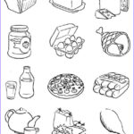 Food Coloring Book Inspirational Stock Free Printable Food Coloring Pages For Kids