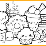 Food Coloring Book Unique Photos Cute Kawaii Food Coloring Pages At Getcolorings