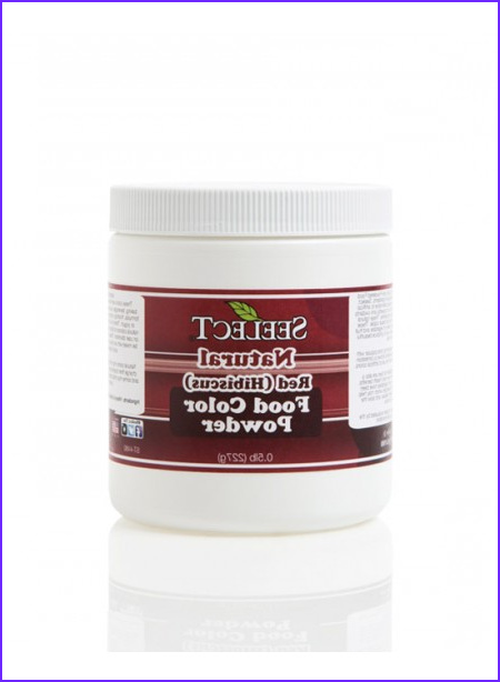 red food color powder natural made from hibiscus kosher vegan gluten free