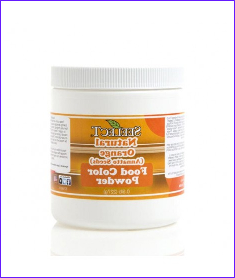 4022 orange food color powder made from annatto seeds
