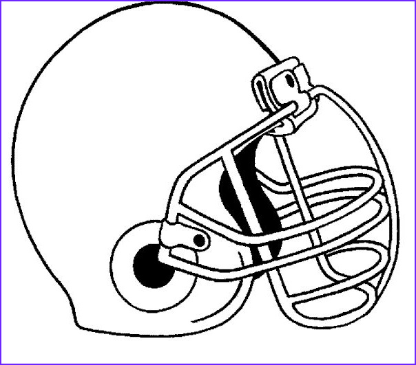 Football Helmets Coloring Pages Awesome Images Printable Helmet for Football Coloring Pages