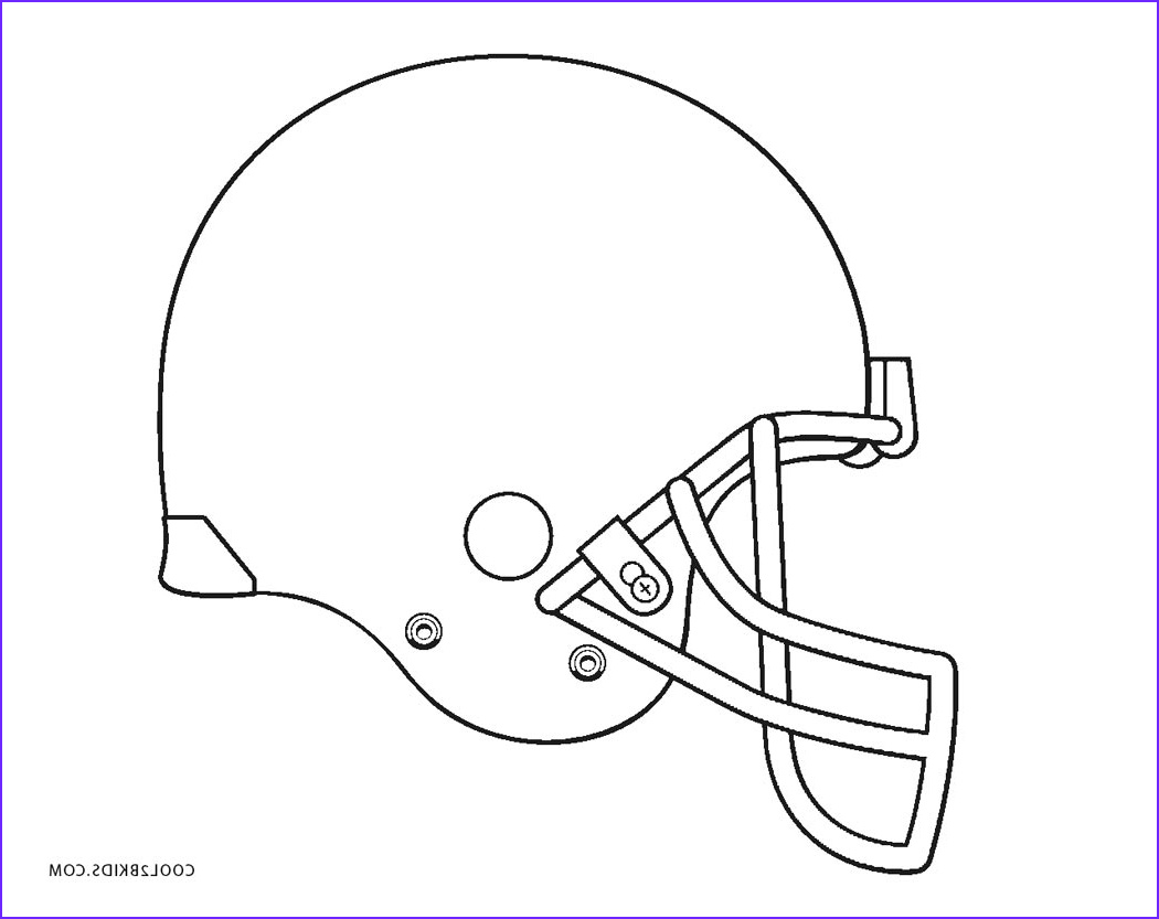 Football Helmets Coloring Pages Beautiful Photos Free Printable Football Coloring Pages for Kids