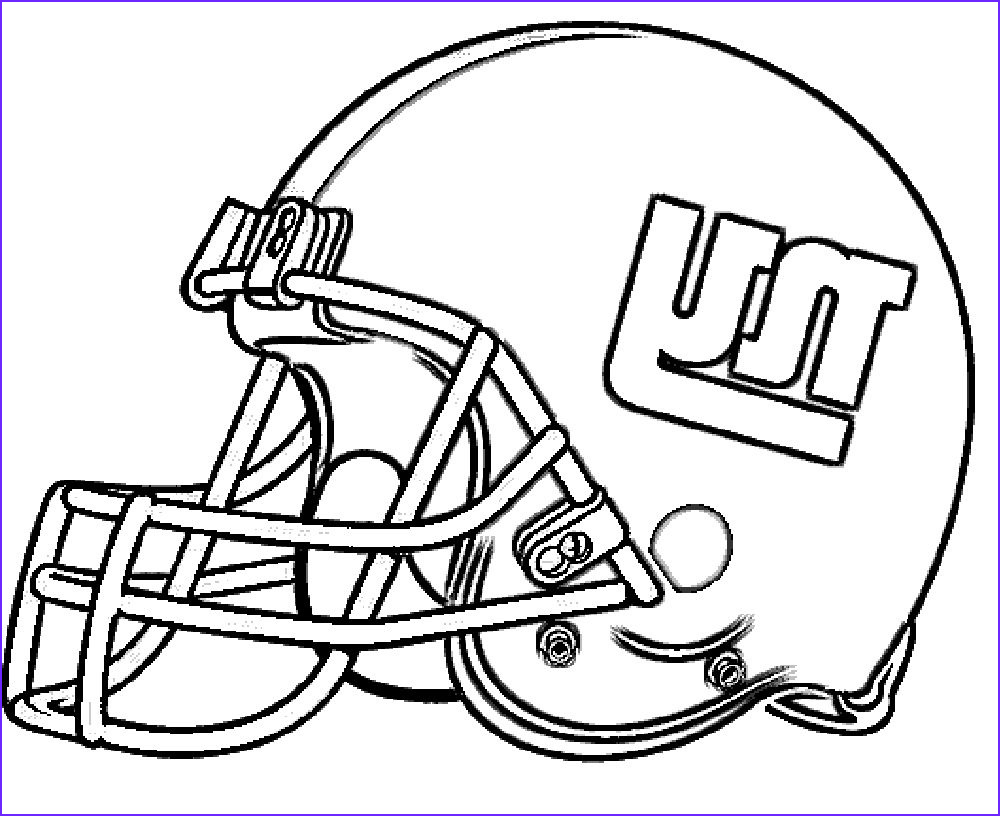 Football Helmets Coloring Pages Beautiful Stock Football Helmet New York Giants Coloring Pages