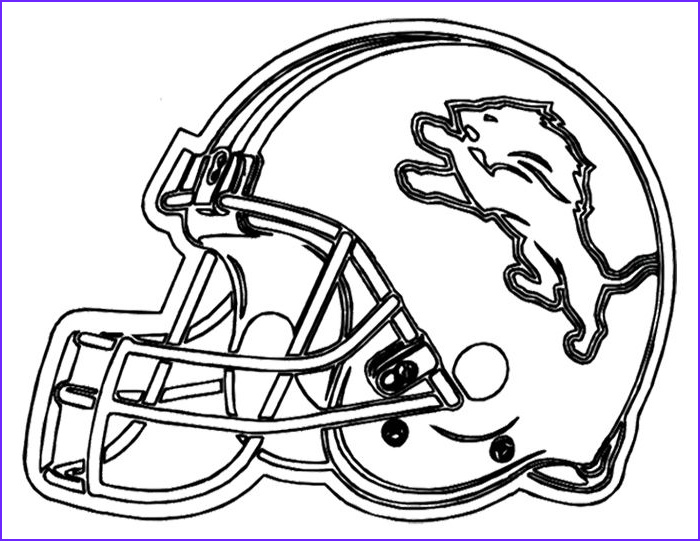 Football Helmets Coloring Pages Best Of Images Football Helmet Detroit Lions Coloring Page
