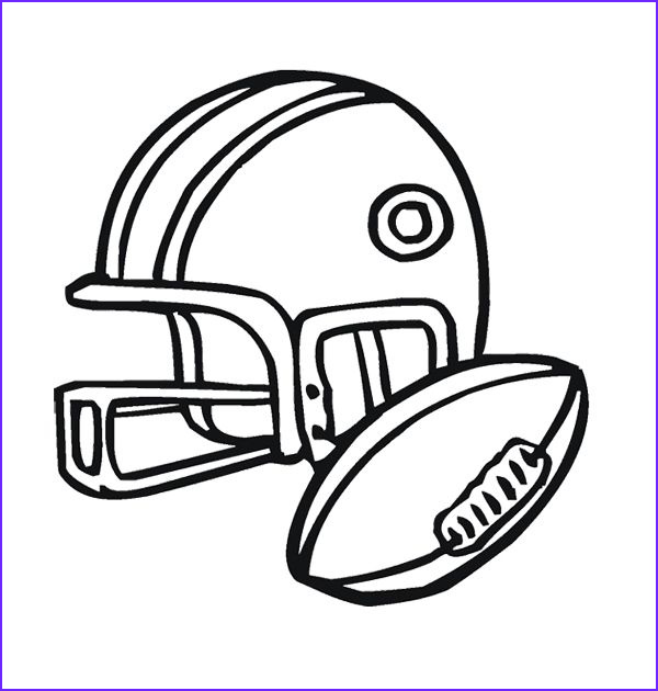 Football Helmets Coloring Pages Luxury Gallery Football Helmet American Coloring Page for Kids