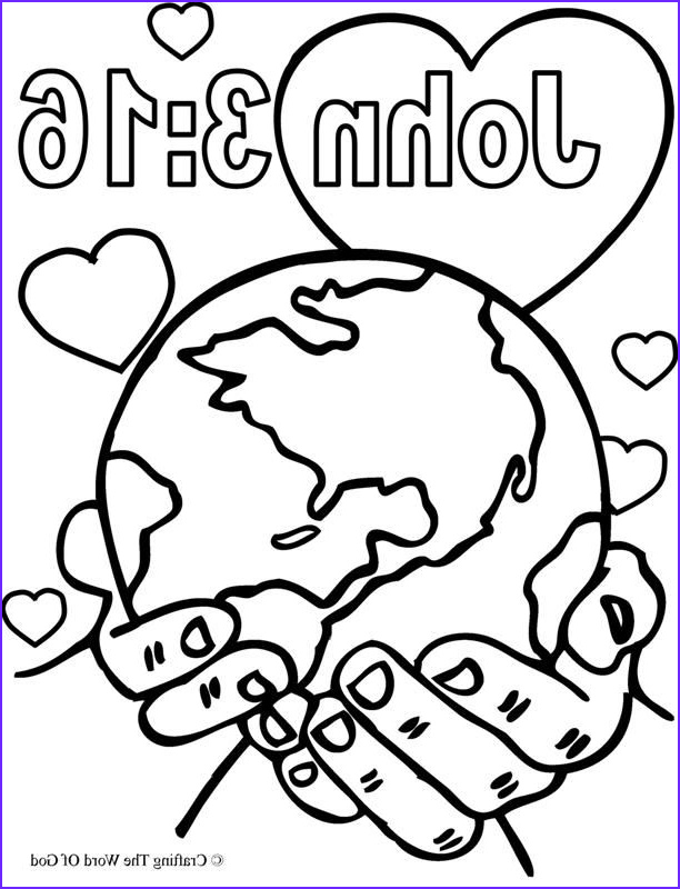 For God so Loved the World Coloring Page Beautiful Photos God so Loved the World Coloring Page Coloring Pages are