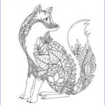 Fox Coloring Sheet Beautiful Image Fox Coloring Pages For Adults Google Search …