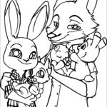 Fox Coloring Sheet Best Of Collection Coloring Pages Zootopia