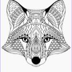 Fox Coloring Sheet Cool Photography Free Printable Coloring Pages For Adults 12 More Designs