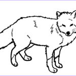 Fox Coloring Sheet Inspirational Collection Free Printable Fox Coloring Pages For Kids