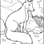 Fox Coloring Sheet Unique Photography Free Printable Fox Coloring Pages For Kids