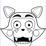 Freddy Coloring Beautiful Image Five Nights At Freddy S Coloring Pages