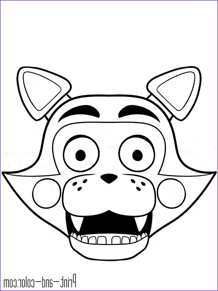 five nights freddys coloring pages