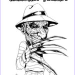 Freddy Coloring Beautiful Image Freddy Krueger Coloring Pages Coloring Home