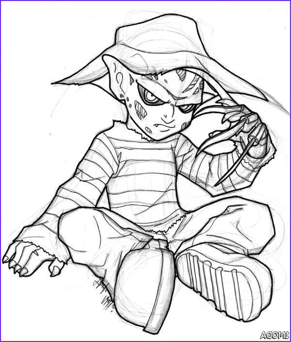Freddy Coloring Beautiful Images Freddy Krueger Coloring Pages 2015 2016