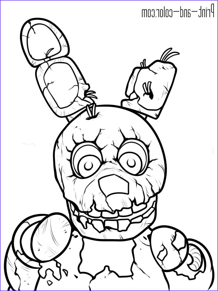 Freddy Coloring Beautiful Photos Five Nights at Freddy S Coloring Pages