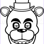Freddy Coloring Beautiful Photos How To Draw Freddy Fazbear Easy Step By Step Video Game