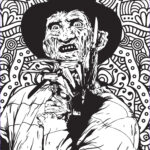 Freddy Coloring Best Of Photos Free Horror Movie Printable Coloring Pages