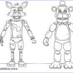 Freddy Coloring Elegant Photography Free Printable Five Nights At Freddy S Fnaf Coloring Pages