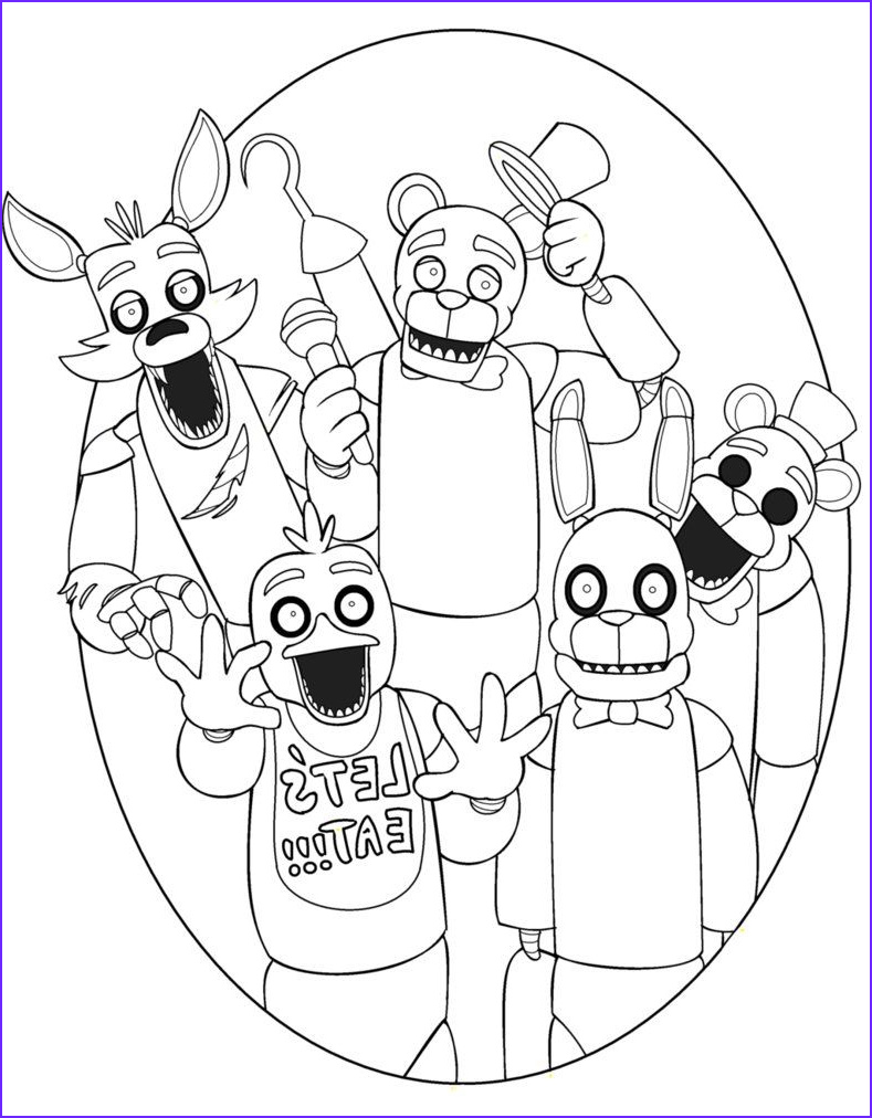 Freddy Coloring Inspirational Photos Five Nights at Freddy 4 Nightmare Freddy Coloring Pages