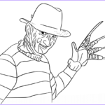 Freddy Coloring New Collection Freddy Krueger Coloring Page