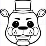 Freddy Coloring New Collection How To Draw Toy Freddy Easy Step By Step Video Game