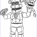 Freddy Coloring New Images Animatronics Coloring Pages To And Print For Free