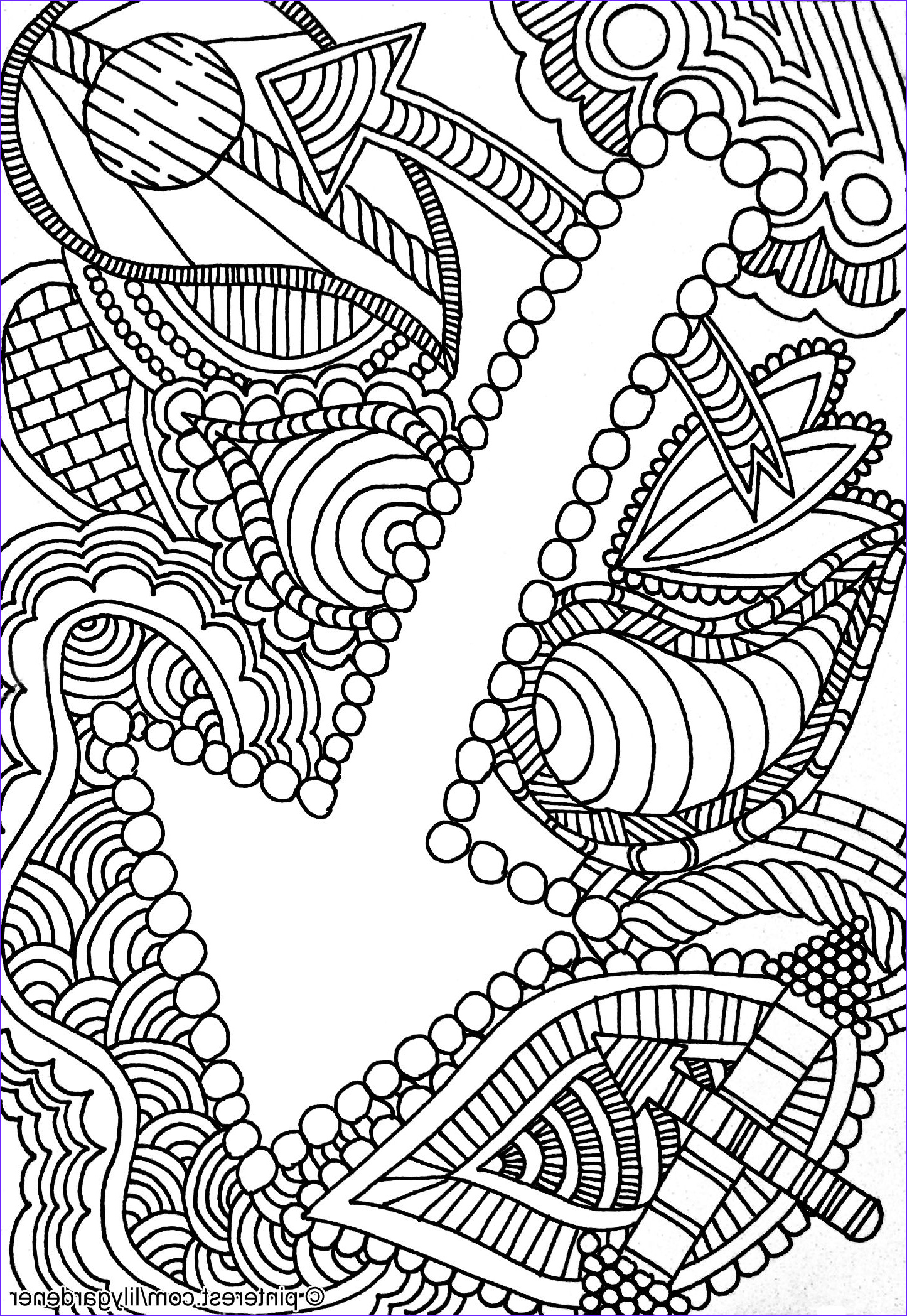 Free Abstract Coloring Pages Awesome Gallery Abstract Coloring Page for Adults High Resolution Free