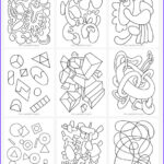 Free Abstract Coloring Pages Luxury Gallery Abstract Coloring Pages For Kids Mr Printables
