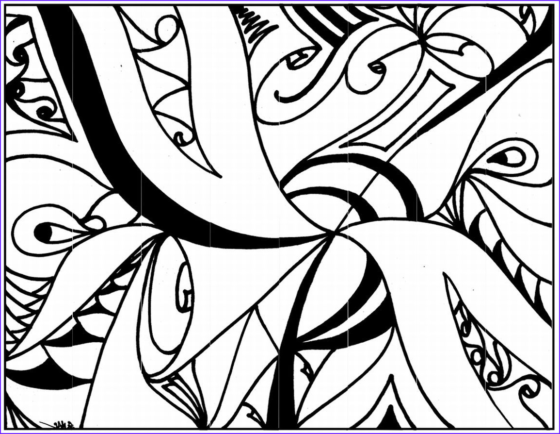 Free Abstract Coloring Pages Luxury Photos Abstract Coloring Pages