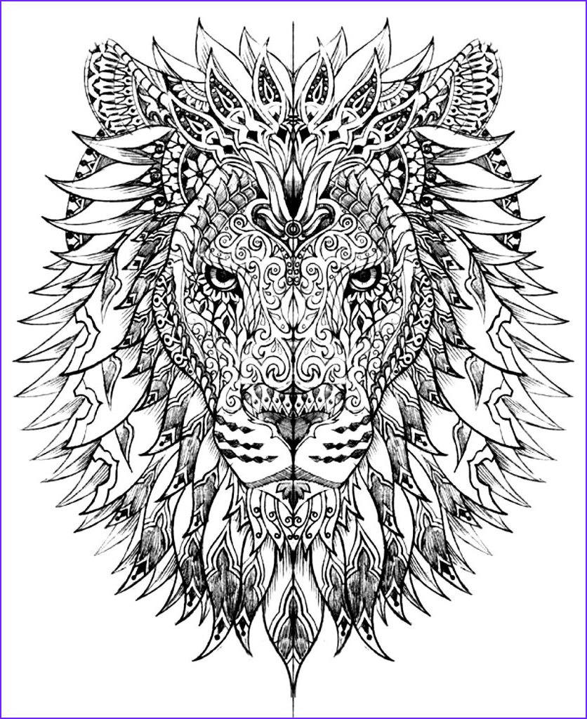 Free Adult Coloring Pages Unique Collection Adult Coloring Pages Animals Best Coloring Pages For Kids