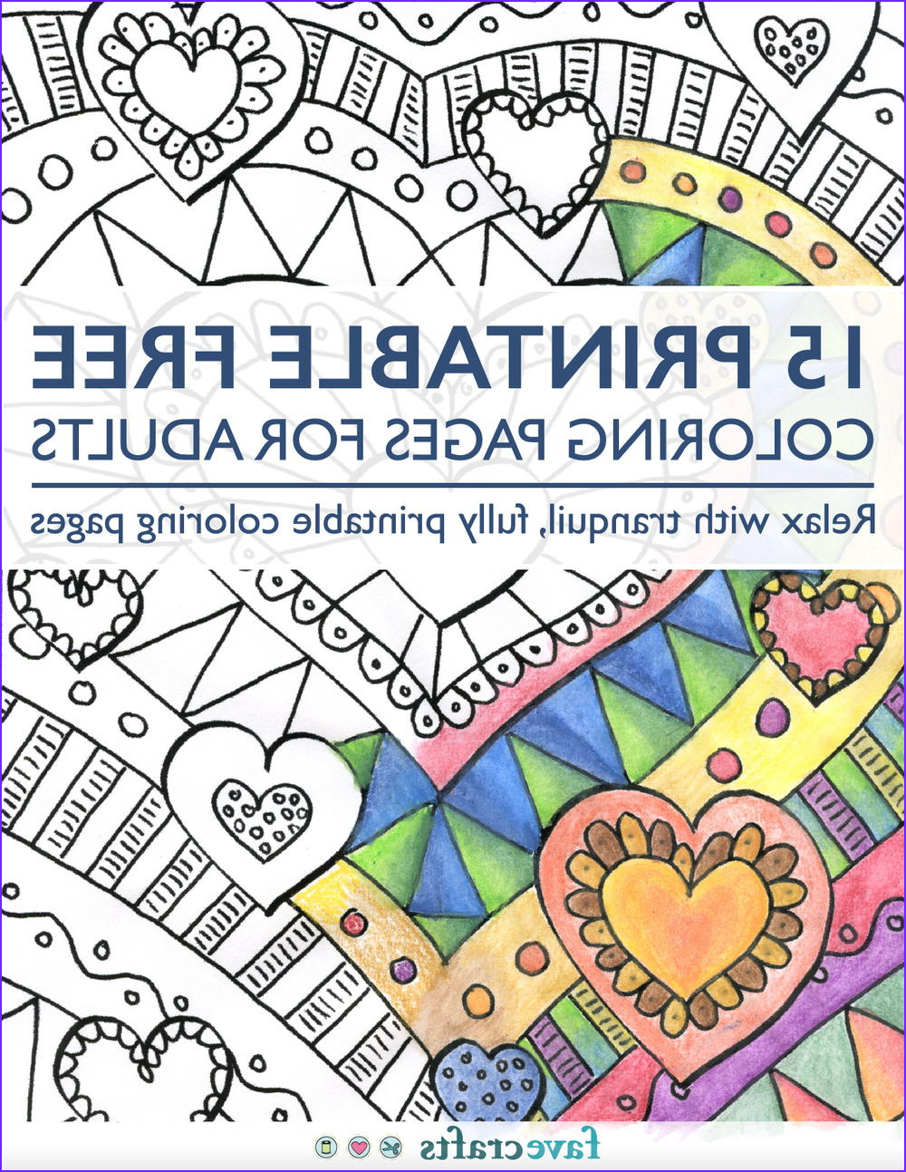 Printable Free Coloring Pages for Adults free eBook