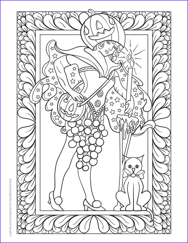 Free Adult Halloween Coloring Pages Awesome Collection Halloween Pixie Fairy Coloring Page