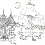 Free Adult Halloween Coloring Pages Beautiful Gallery Halloween Coloring Pages For Adults