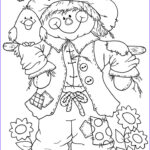 Free Adult Halloween Coloring Pages Beautiful Photos 89 Best Images About Scarecrows On Pinterest