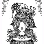 Free Adult Halloween Coloring Pages Beautiful Stock Halloween Coloring Pages For Adults To Print And Color