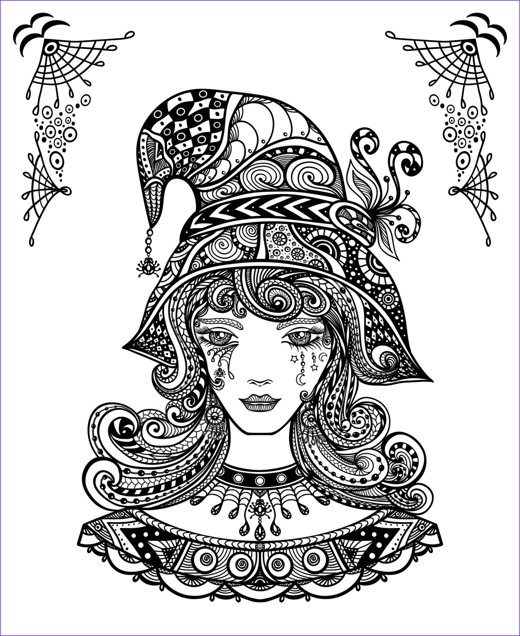 free halloween coloring pages activity sheets to print and color