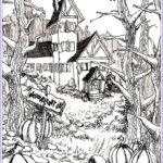 Free Adult Halloween Coloring Pages Inspirational Photos Haunted House To Print And Color With Big Pumpkins From