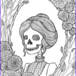 Free Adult Halloween Coloring Pages Inspirational Stock Best Halloween Coloring Books For Adults Cleverpedia