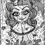 Free Adult Halloween Coloring Pages Luxury Collection Zombie Coloring Pages For Adults