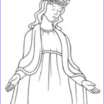 Free Catholic Coloring Pages Printables Inspirational Photos 20 Best Mary Coloring Pages Images On Pinterest