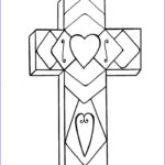 Free Christian Coloring Pages Cool Collection Cross John 3 16