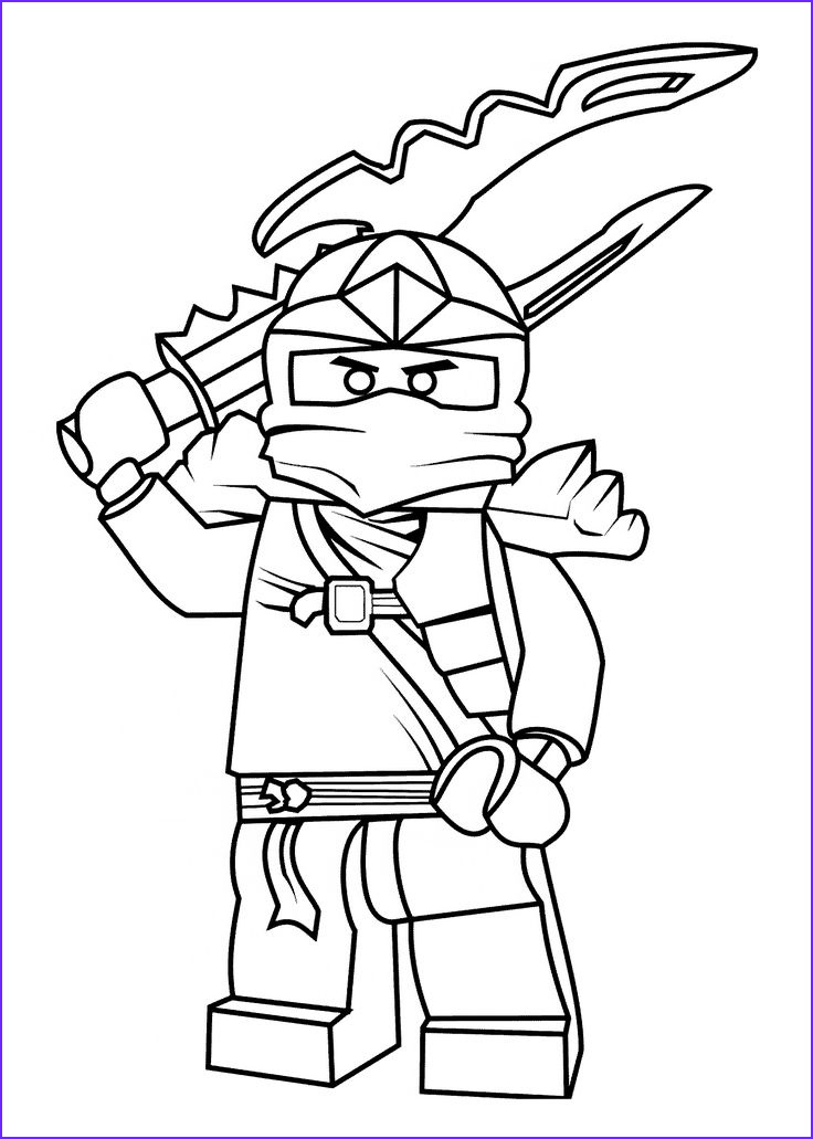 Free Coloring Book Pages Best Of Collection Ninjago Coloring Pages for Kids Printable Free
