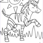 Free Coloring Book Pages Cool Collection Zebra Coloring Pages To Print