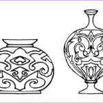 Free Coloring Book Pages New Photos Vase Coloring Pages To And Print For Free