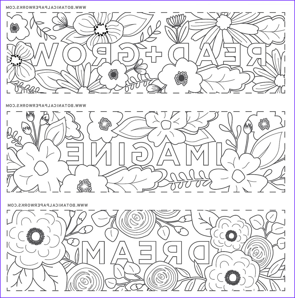 Free Coloring Bookmarks Best Of Images Free Printables Read Grow Coloring Bookmarks for Back