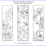 Free Coloring Bookmarks Elegant Image Printable Colouring Page Bookmarks