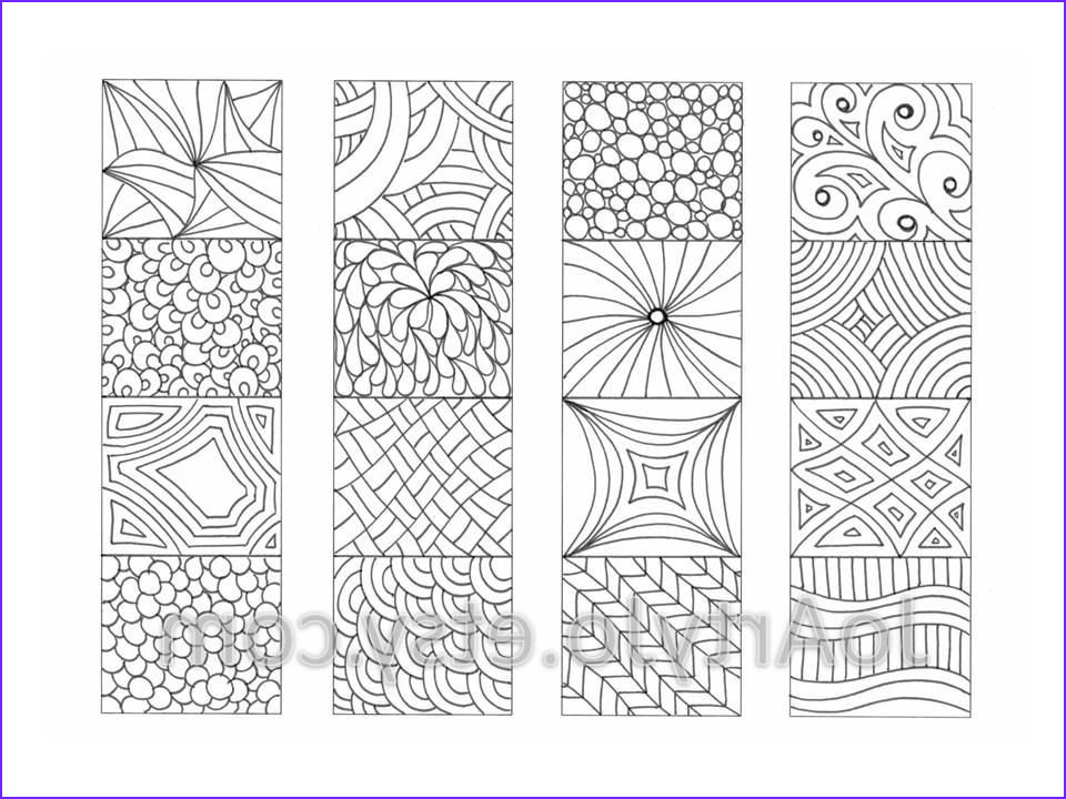 Free Coloring Bookmarks Inspirational Photos Color Your Own Bookmarks Zentangle Inspired Printable от