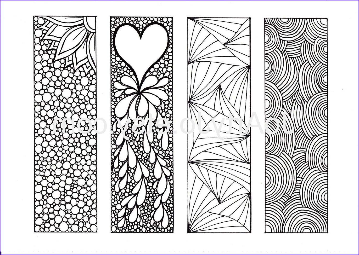 Free Coloring Bookmarks Luxury Photos Zentangle Inspired Art Bookmarks Diy Printable by Joartyjo