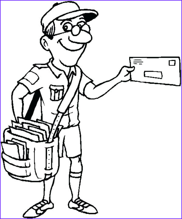 Free Coloring Books by Mail Beautiful Gallery Mail Truck Coloring Page at Getcolorings
